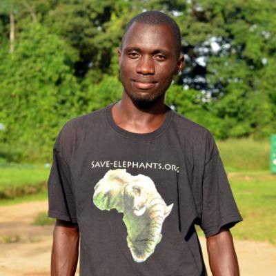 Pánské tričko – Afrika – černé